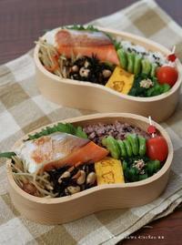 月曜鮭弁 ✿ 母の日はお寿司三昧(๑¯﹃¯๑)♪ - **  mana's Kitchen **