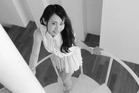 田川紗永ちゃん34 - モノクロポートレート写真館
