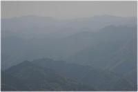 霞む山並 - 写真画廊 ナカイノブカズ 2