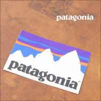 patagonia [パタゴニア正規代理店] SHOP STICKER [92073] 白フィッツロイ ショップステッカー - refalt   ...   kamp temps