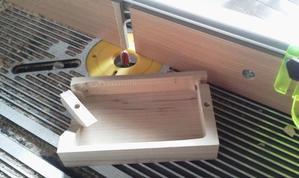 今日の木工・・・バターケース・一輪挿し - 木遊人masamiの十勝lifelog
