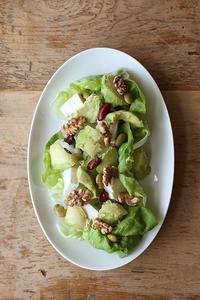 緑と白のサラダ - Nasukon Pantry