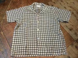 5月20日(土)入荷!60s dot pattern コットン オープンカラーシャツ! - ショウザンビル mecca BLOG!!