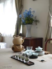 5月のおもてなしの中国茶レッスン - お茶をどうぞ♪