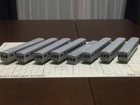 阪急京都線2800系の製作(その1) - マルコの大冒険Nゲージ鉄道模型編(by tabi-okane)