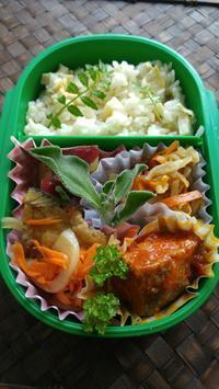 作りおきを使ったお弁当 - 料理研究家ブログ行長万里  日本全国 美味しい話