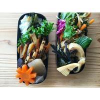ワラビと筍煮物BENTO - Feeling Cuisine.com