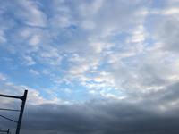 曇り空 - 何もしない贅沢