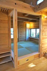 畳下収納は上げる・引き出すを使い分け - アトリエMアーキテクツの建築日記