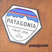 patagonia [パタゴニア正規代理店] FITZ ROY HEX STICKER [92071] 六角 ステッカー - refalt   ...   kamp temps