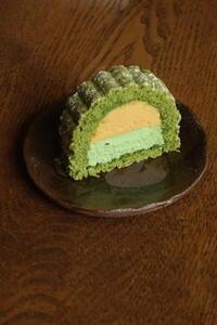 「黄粉と抹茶のケーキ』レッスン♪ - Baking Daily@TM5