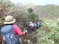 芽吹き祭参加 荒島岳 (1,523.5M)  下山 編 - 風の便り