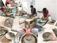 本日の陶芸教室 Vol.679 - 陶工房スタジオ ル・ポット