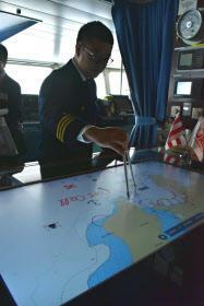 電子海図に簡単手書き入力 日本郵船 - 船が好きなんです.com