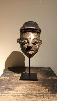 アフリカ ナイジェリア イビビオ族 仮面 - MANOFAR マノファー