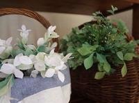 グリーンとかご - handmade flower maya