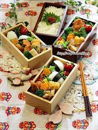 チキンカツ弁当とワイヤープランツ♪ - ☆Happy time☆