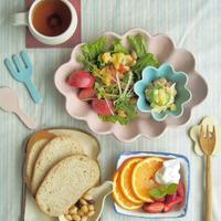 サラダをどーんの朝ごはん - 陶器通販・益子焼 雑貨手作り陶器のサイトショップ 木のねのブログ