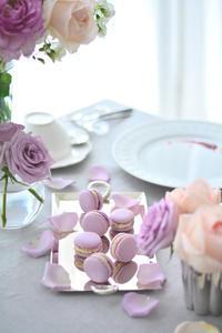 マカロンレッスン レポート② - Misako's Sweets Blog アイシングクッキー 教室 シュガークラフト教室 フランス菓子教室 お菓子 教室