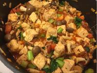 トマト入り麻婆豆腐、豚生姜焼き。 - パルシステムのある生活♪
