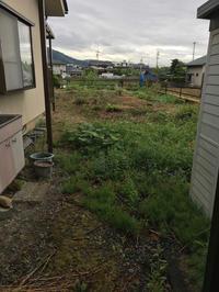 防草シート敷き - 三楽 sanraku 造園設計・施工・管理 樹木樹勢診断・治療
