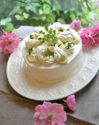 バナナショートケーキ - 調布の小さな手作りお菓子・パン教室 アトリエタルトタタン