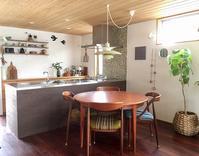 ダイニングテーブルのメンテナンスと丸いテーブルの使い心地のこと。 - 10年後も好きな家