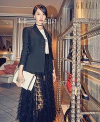 """少女時代 ユナ、香港を魅了した美しさに視線釘付け…グラビアで見せた""""洗練された魅力"""" - Niconico Paradise!"""