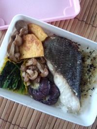 メダイの塩糀焼き弁当 - 東京ライフ