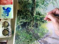 久々に「あべ としゆき」さん - ポッと出っスけど杉山ひとみ/水彩画ブログ