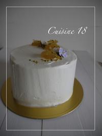 母の日のケーキ - cuisine18 晴れのち晴れ