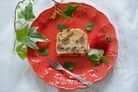いちじくとレーズンのパウンドケーキ - 酵母の庭