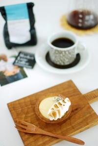 タルト・シトロンとコーヒー☆ - moko's cafe