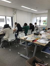 ヴォーグ学園東京校「布小物講座」今回のテーマは胸キュン!マロン巾着♪ - neige+ 手作りのある暮らし