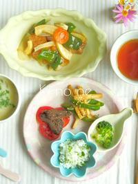 カラフル器の朝ごはん - 陶器通販・益子焼 雑貨手作り陶器のサイトショップ 木のねのブログ