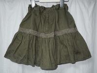 311.キュロットパンツ付きスカート - フリルの子供服