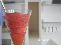 そして早速・・・トマトのデザート♪ - RoseBijou-parler*blog