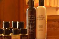 ジョンマスターオーガニック の巻 - 館林の完全お一人様専用 くつろぎの美容室 ぱ~せぷしょんの ウェブログ