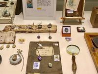 ガラスと切手のアクセサリーフェア <moe.glass.>嶋崎圭子さん&<grinte>小川知美さん - Hiroshima HH