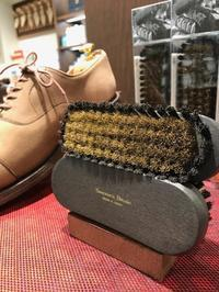 高級スエード・ヌバック用刷子、待ってました - 玉川タカシマヤシューケア工房 本館4階紳士靴売場