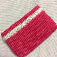 オーダー頂いているバッグの本体が編み上がりました。 - +you