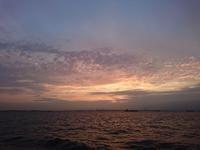 空と海の風景 - 三宅島風景