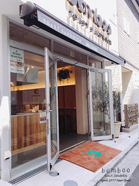 Toast Sandwich bamboo / Blue Bottle Coffee 青山       表参道 - Favorite place  - cafe hopping -