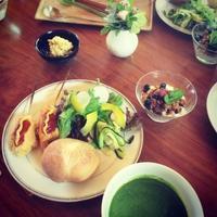 5月の料理とおやつの教室 - 旬な暮らし        ~~~ 岩田さんのおやつ ~~~