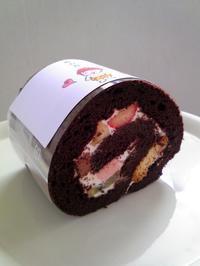 恵方巻ロールケーキ - 手作りケーキのお店プペ