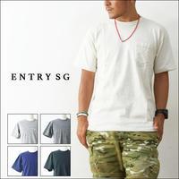 ENTRY SG [エントリーセスジー] TIJUANA T161CBP ポケットTシャツ - refalt   ...   kamp temps