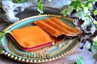 やみつきエルクのL型財布と3本差ペンケース・時を刻む革小物 - 時を刻む革小物 Many CHOICE~ 使い手と共に生きるタンニン鞣しの革