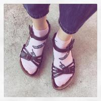 携帯靴下 - うさまっこブログ