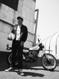 大門 裕司 & SUZUKI TS400 Hustler(2017.04.30) - 君はバイクに乗るだろう