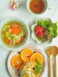 爽やか朝ごはん - 陶器通販・益子焼 雑貨手作り陶器のサイトショップ 木のねのブログ